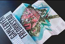 Tourist map - Fredrikstad Fortress Town (Norway) / Graphic design, illustration, logo, visual profiles, digital campains