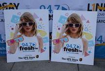 94.7 Fresh FM Partnership / We love partnering with 94.7 Fresh FM!