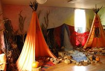 Imaginative Classroom Decor <3 / If I could, my whole apartment would be a blanket fort...
