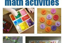 Nursery/Preschool Math / Easy math and Number based games and activities for teaching early math and counting!