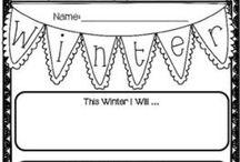 Winter theme lesson
