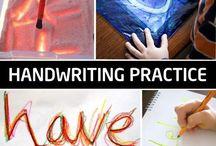 Writing - drawing practice nursery- k1