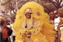 Mardi Gras Indians / Mardi Gras Indians have been parading in New Orleans at least since the mid-19th century, possibly before. The history of the Mardi Gras Indians is shrouded in mystery and folklore.
