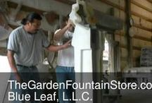 Garden Fountain Videos / Videos of the Production of Frank Lloyd Wright Concrete Garden Planters, Statues, and Fountains and other Nichol Bros. Stoneworks Products and Installation Instructions