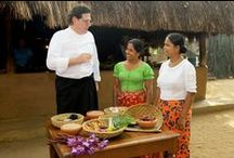 Marco Pierre White at Nuga Gama, our village in the city