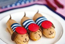 Children's canapés / Keep those sugar levels regular with delicious treats