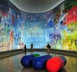 Exhibitions of art