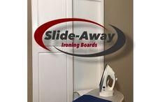 Slide-Away ironing boards / Wall mounted ironing boards / surface mounted ironing boards