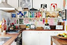 kitchen heavens / here, all the little bits and pieces, clever ideas and tips for my kitchen-to-be.