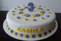 Pasteles - Gateaux - Cakes / Pasteles de cumple - Primera comunion