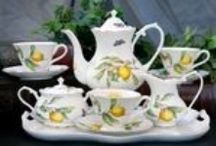Teapot & teacups / by Mary Godbee