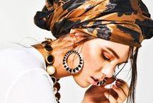 Turbans, headwraps & scarves
