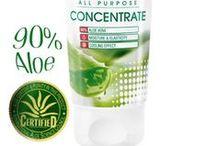 Aloe vera. Specialvård / Ekologiskt odlad aloe vera.