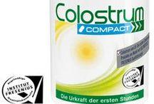 Colostrum. / Colostrum.  - Uteslutande från tyska kor, - Endast överlopps råmjölk från de första timmarna används. - Skonsam tillverkningsmetod för att bevara de känsliga Beståndsdelarna används.  Skonsamt förädlad naturprodukt, regelbundna kontroller & pålitliga mätningar utförs av SGS InstitutFresenius.  Patentskyddad.