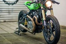Motorbikes / Caferavers, Streetfighters, custom naked bikes