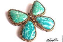 Бабочки / Бабочки из бисера
