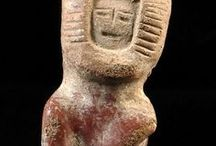 Valdivia Culture From Ecuador (3500 BC 1800 BC) / Existing between 3500 BC and 1800 BC the Valdivian preceramic culture is one of the oldest in The Americas.