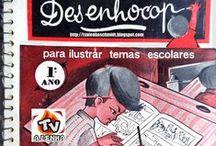 ÁLBUNS DE COLORIR / COLORING BOOKS / COLORING COMICS