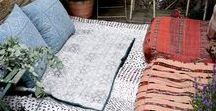 SMALL OUTSIDE SPACES / If you live in the city or have a small back yard check out these inspirational outside areas for small gardens, balconies and urban spaces.  There are lots of small space garden ideas and inspiration on how to transform your garden into a stylish relaxing and welcoming area.