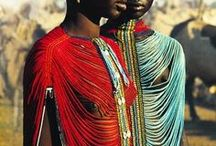 Dinka People / Native people of South Sudan, speakers of the Dinka language of the nilotic language family.