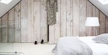 WOOD PANELLING / Adding wooden accents and wooden features in your interiors can create lots of warmth and interest.  There are lots of light and bright wood looks to create and warm and stylish interior look.   Maybe just adding some panelling to create grandeur or a more contemporary feature wall with wood clad panels, or adding perhaps uncovering wooden floorboards and repainting them white to add texture your interior schemes and interior decor.