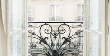 PARISIAN CHIC INTERIOR / Your guide to the perfect Parisian Chic apartment.  Modern eclectic interiors, contemporary art and vintage furniture to create the ultimate stylish city pad interiors.  Parisian Chic interior creates a warm, stylish and eclectic interior vibe.