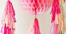 PARTY DECOR IDEAS / This board is full of tasteful, colourful and stylish party decor ideas whatever time of year! Table styling, decorations, and party theme ideas for the ultimate cool and stylish party.