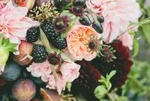 Botanical Wedding / Because nothing beats bright coloured florals.
