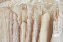 White, Cream + Dusky Pink / Soft dreamy shades of white, cream and dusky pink. Love love love!