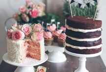 Dessert Tables / Charming and ever so delicious looking dessert tables...