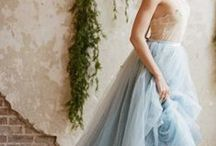 Blue Wedding / An irresistible colour - and so gorgeous for a wedding