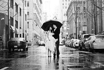 Black + White Wedding / A classic and very sophisticated colour theme.