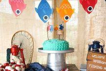 Boys Birthday Parties / Charming party ideas for a boy...