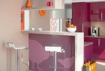 Ambientes Integrados / Nova tendência em arquitetura, ambientes integrados ajudam a ampliar os espaços de sua casa.