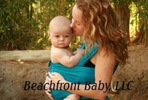Beachfront Baby Wraps / Beachfront Baby Wraps are the stylish & comfortable way to take baby in the water!