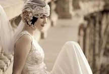 A 1920s Wedding / Channelling the glamour and sophistication of the 1920s