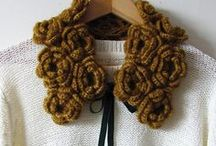 Crochet neckwear / Crochet neck accessories