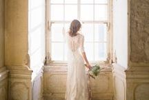 Neutrals, Nudes + Grey Wedding / These tones make such a dreamy palette when mixed together
