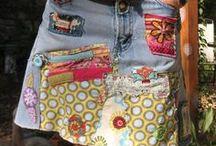skirts inspirations  / mostly jeans & denim