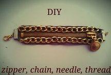 My DIY jewelry