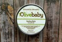Olive Baby - Products and Ingredients / Olive Baby - Pure. Natural. Simple. Naturopath Formula - Parent and Baby Approved! www.olivebaby.ca