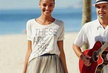 Beach Life / Beach wear, resort wear, summer, summer fashion