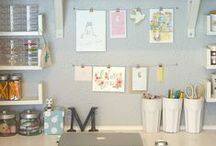 "Mom's Creative Space / ""A place of your own - a place to reflect, rejuvenate, create'"" Olive Baby"