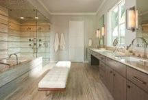 A Proper Bath / Master baths, powder rooms, and even the kids' bathrooms should be beautifully appointed!