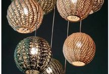 Hæklede lamper