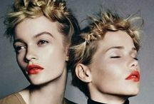 HAIR | INSPIRATION / Hair in Catwalks, editorials, and photography.