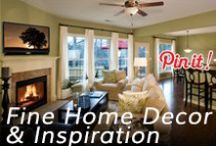 Fine Home Decor & Inspiration / Excellently furnished & decorated rooms. Lovely scenery.