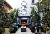 Al aire libre / Jardines, terrazas y albercas.