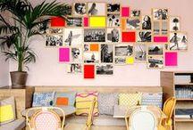 Muros creativos / Las ideas más originales para decorar las paredes.