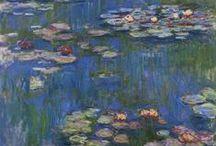 """Nel giardino di Alice / """"Un regno incantato, dove dominano pace ed armonia. Stupefacente, nella propria bellezza; e prezioso: per una fragilità quasi cristallina. baciato dalla freschezza dell'arcobaleno che disegna tra fronde e cespugli magiche atmosfere di luce: un luogo da sogno il giardino che Claude Monet ha creato nella sua casa di Giverny. Uno scrigno pensato in onore dei suoi due grandi amori: la pittura, ovviamente. E Alice."""""""